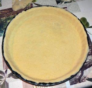 Tarte aux pommes, crème de nougat et raisins secs etape4