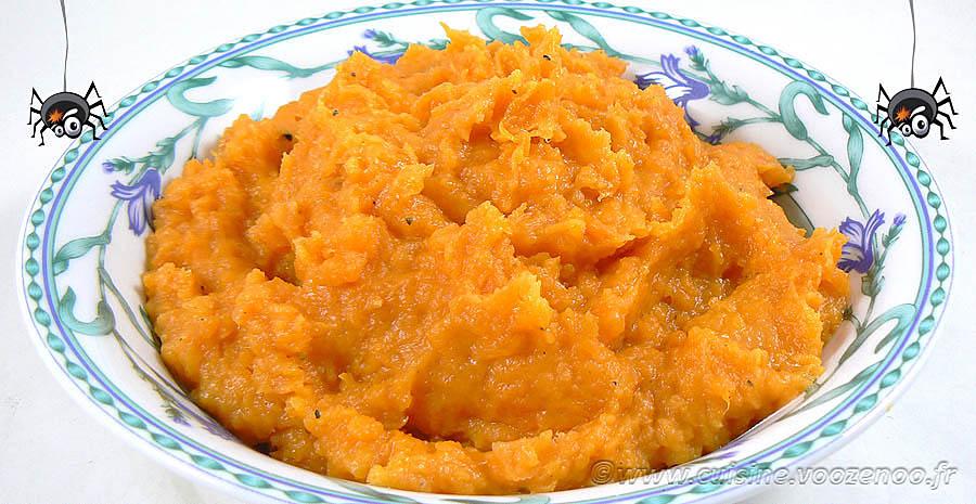 Purée de patate douce, la vraie recette américaine slider