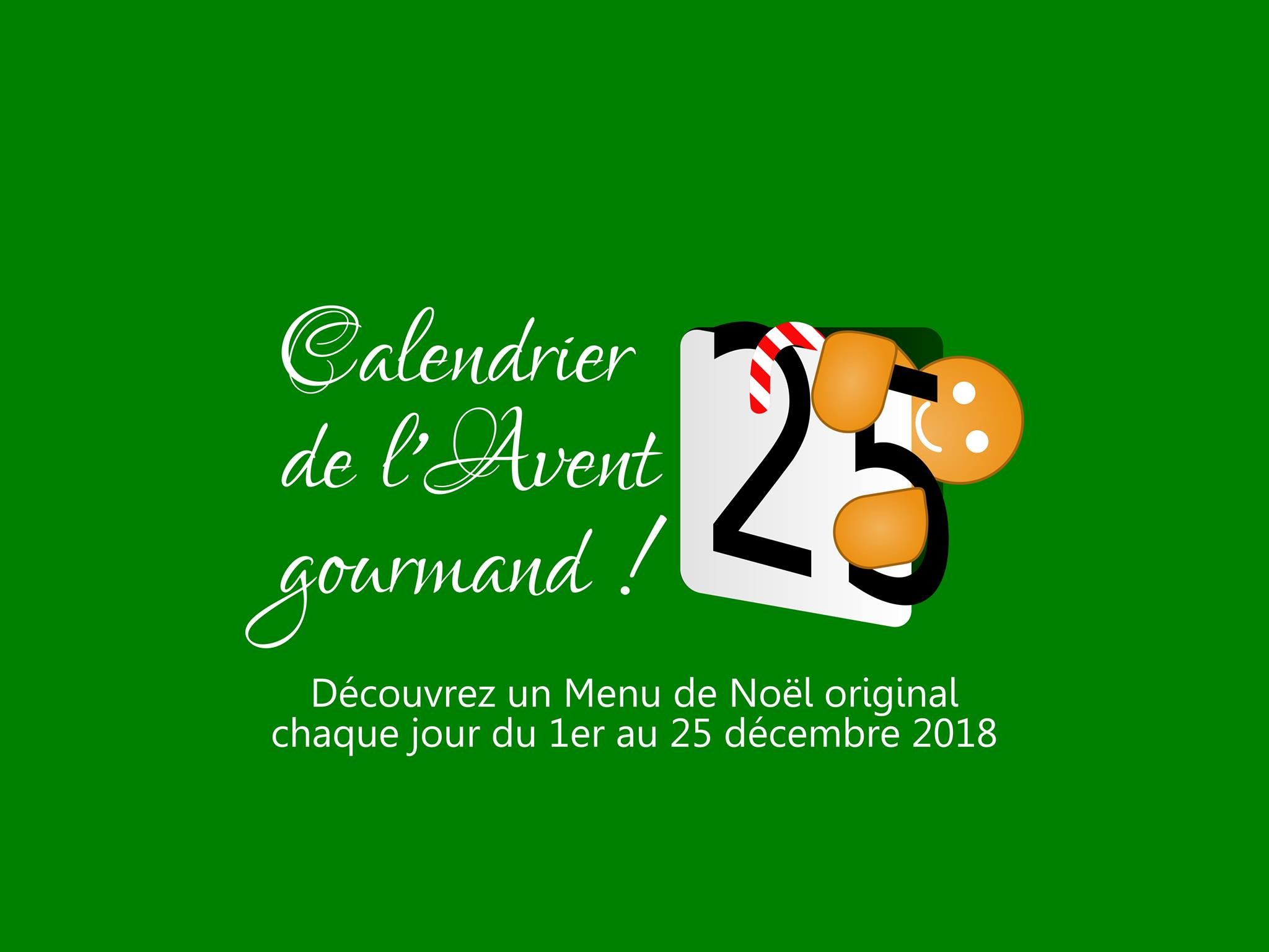Calendrier avent 2018