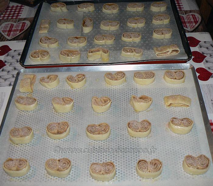 Palmiers aux saveurs pain d'épices etape4