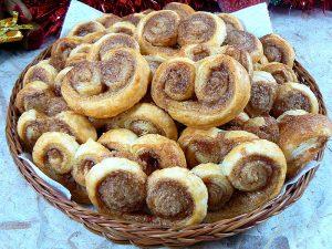 Palmiers aux saveurs pain d'épices fin
