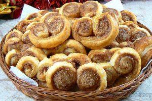 Palmiers aux saveurs pain d'épices slider