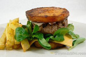 Burger de butternut slider