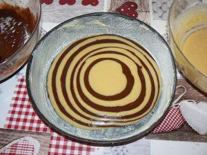 Zebra Cake etape5