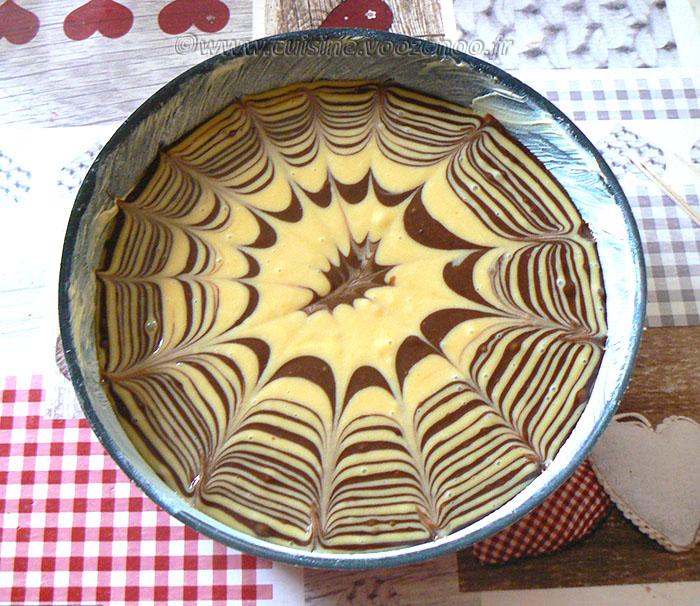 Zebra Cake etape7