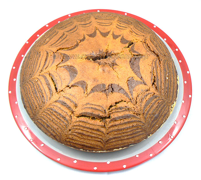 Zebra Cake presentation