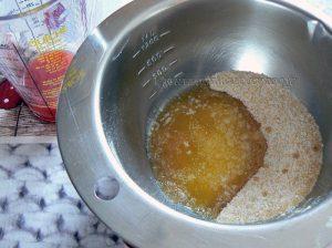 Millefeuille crème de pistache, tuiles croustillantes à l'orange sanguine etape6