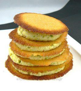 Millefeuille crème de pistache, tuiles croustillantes à l'orange sanguine fin2
