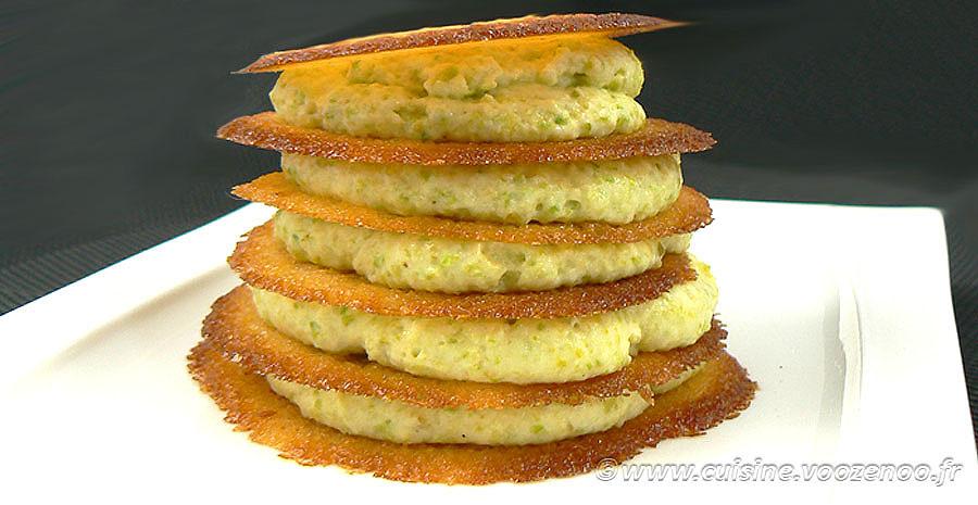 Millefeuille crème de pistache, tuiles croustillantes à l'orange sanguine slider