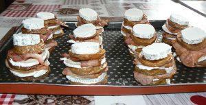 Millefeuille de pommes de terre au lard, bacon et chèvre etape5
