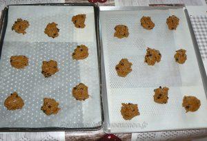Cookies à la chicorée et pépites de chocolat noir etape5