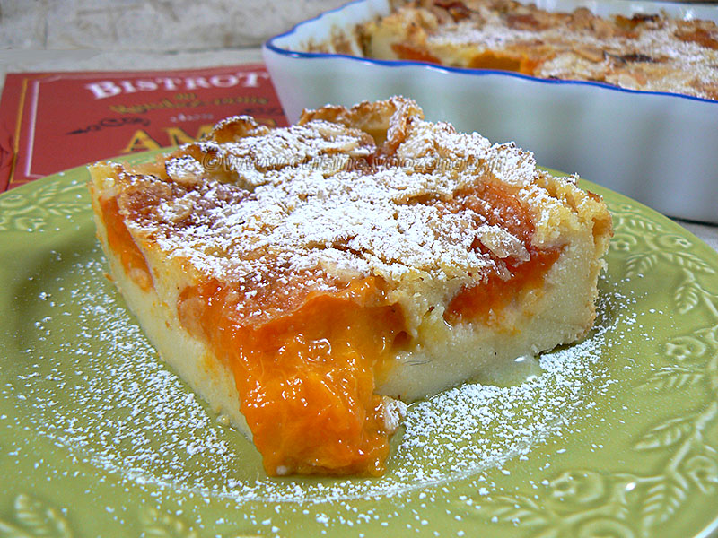 Flognarde aux abricots et amandes fin2