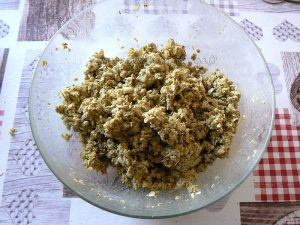 Tarte aux tomates cerise et crumble gourmand etape4