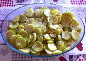 Gratin de courgettes, sauce béchamel au Kiri etape3