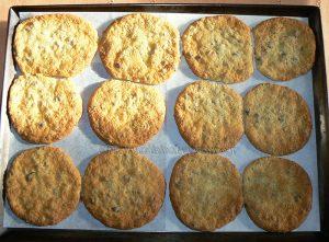 Cookies aux éclats de pistaches et pépites de chocolat etape3