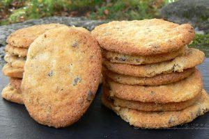 Cookies aux éclats de pistaches et pépites de chocolat