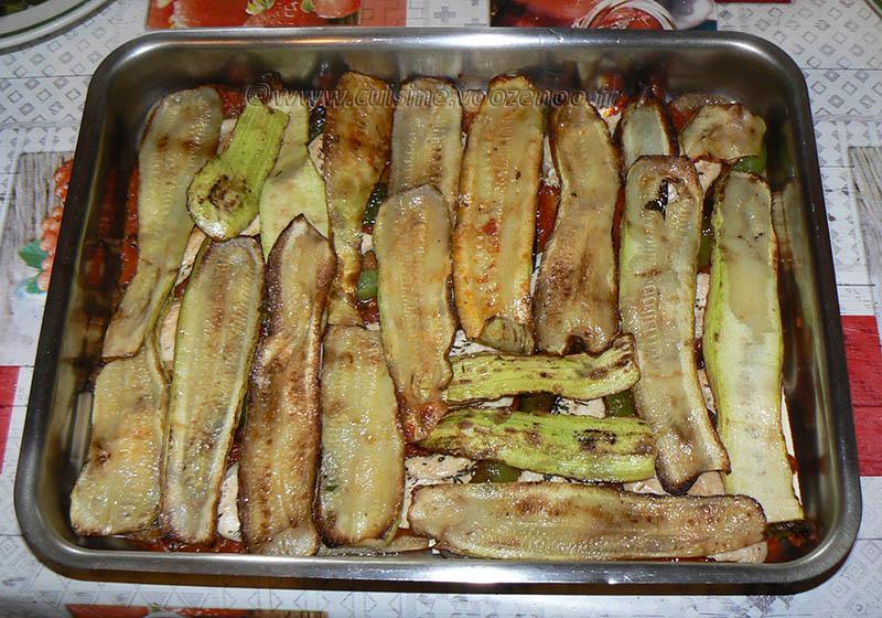 Lasagne de poulet et légumes d'été etape10