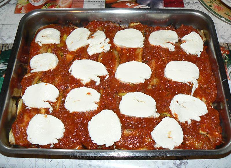Lasagne de poulet et légumes d'été etape11