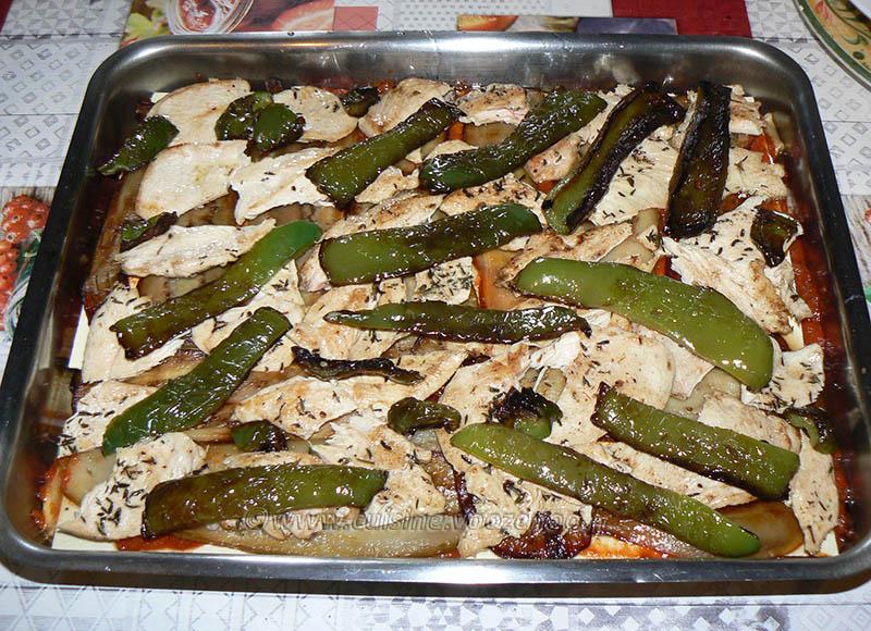 Lasagne de poulet et légumes d'été etape12
