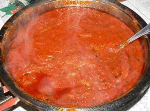 Lasagne de poulet et légumes d'été etape2