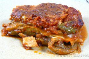 Lasagne de poulet et légumes d'été