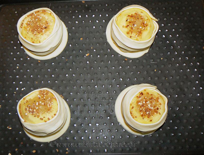 Pommes feuilletées etape1
