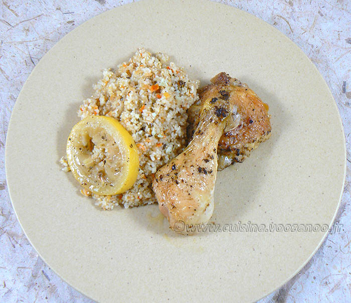 Cuisses de poulet citron, ail et basilic fin2