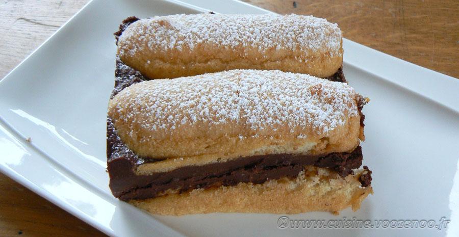 Pavé au chocolat noir « Ivre » slider
