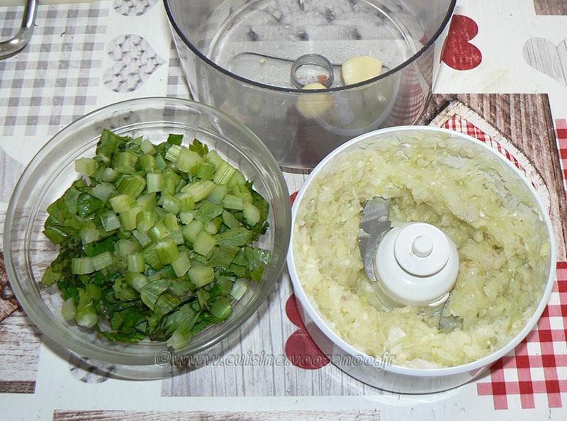 Bucatini aux fruits de mer, sauce bisque de homard etape1