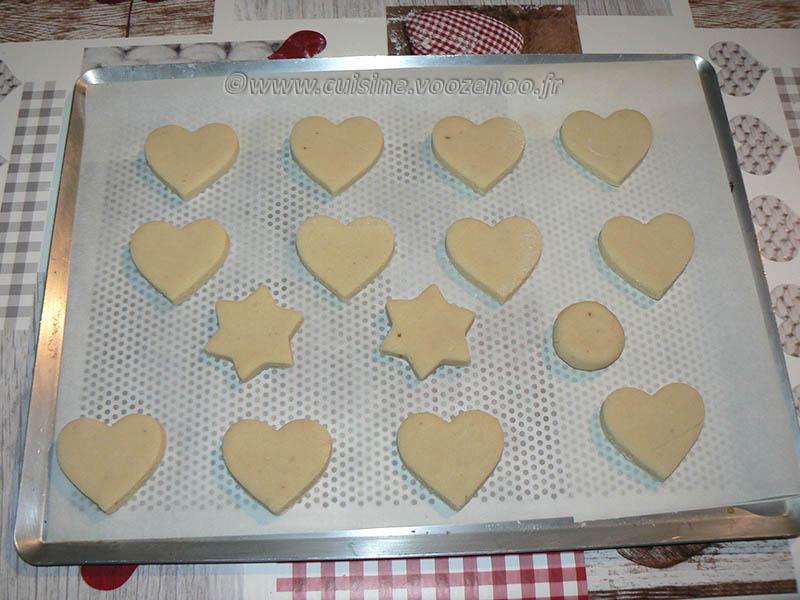Cœurs de massepain cuits etape4