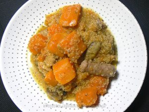 Quinoa à la Butternut et chipolatas fin2