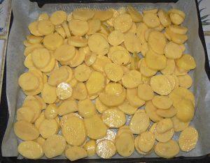Pommes de terre sarladaise au four etape2