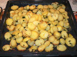 Pommes de terre sarladaise au four fin