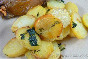 Pommes de terre sarladaises au four