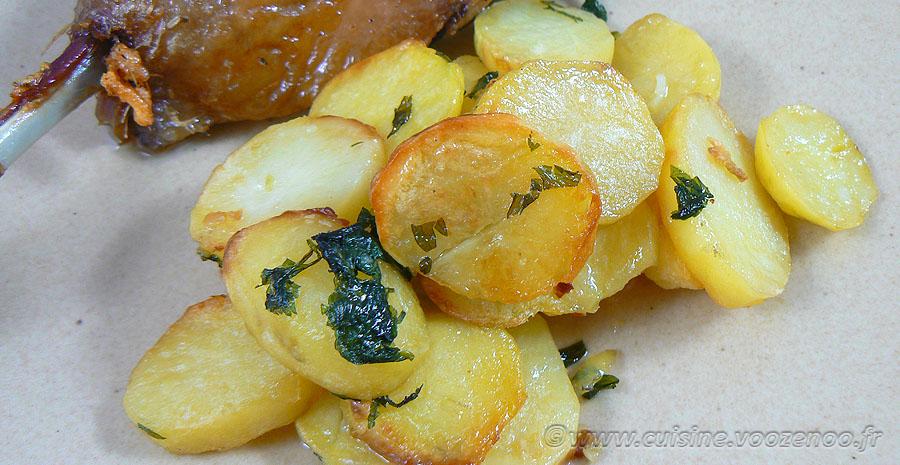Pommes de terre sarladaise au four slider