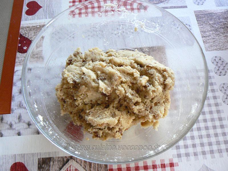 Macarons aux dattes etape1