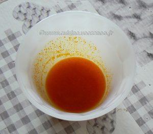 Galettes de riz, poireaux à la crème et œufs au plat etape2