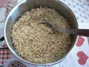 Boulettes de quinoa parfumées au lait de coco et thé vert au jasmin etape2