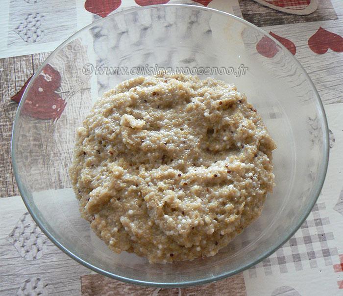 Boulettes de quinoa parfumées au lait de coco et thé vert au jasmin etape3