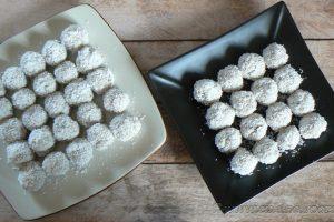 Boulettes de quinoa parfumées au lait de coco et thé vert au jasmin