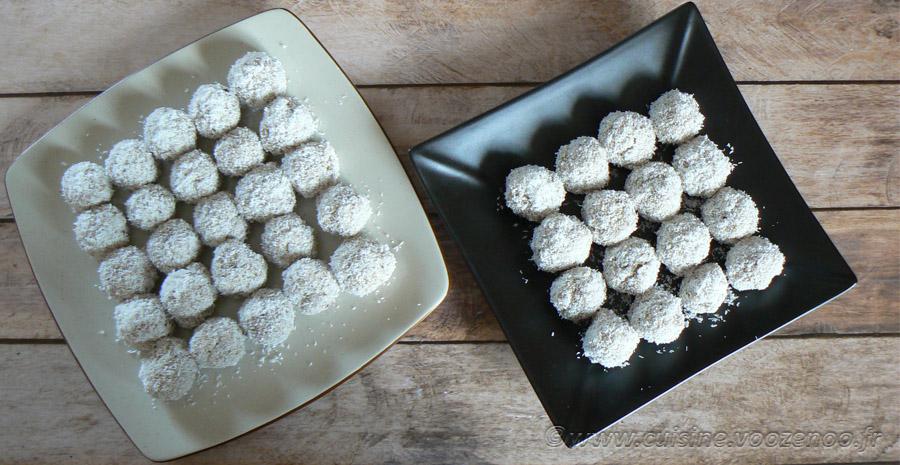 Boulettes de quinoa parfumées au lait de coco et thé vert au jasmin slider