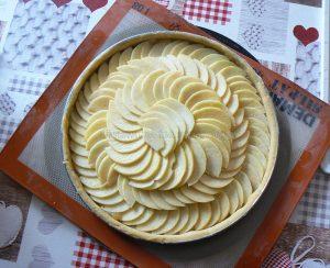 Tarte aux pommes etape10
