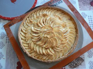 Tarte aux pommes fin