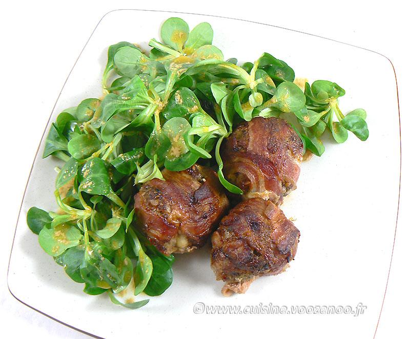 Boulettes de bœuf à la raclette et lard fin2