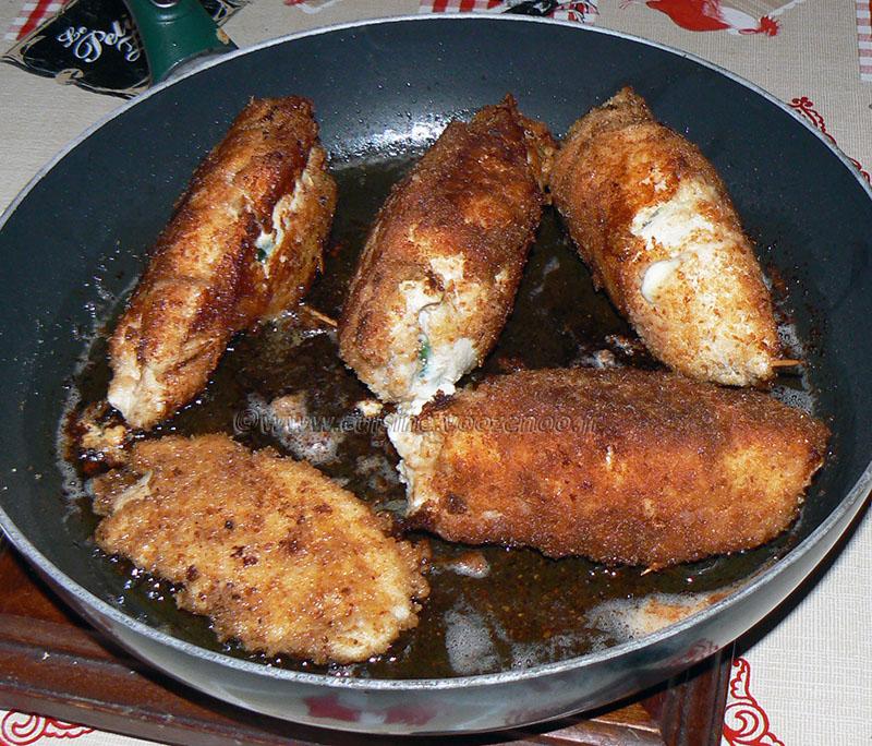 Blancs de poulet farcis aux épinards et mozzarella fin