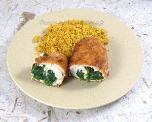 Blancs de poulet farcis aux épinards et mozzarella fin2
