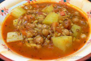 Harira végétarienne slider