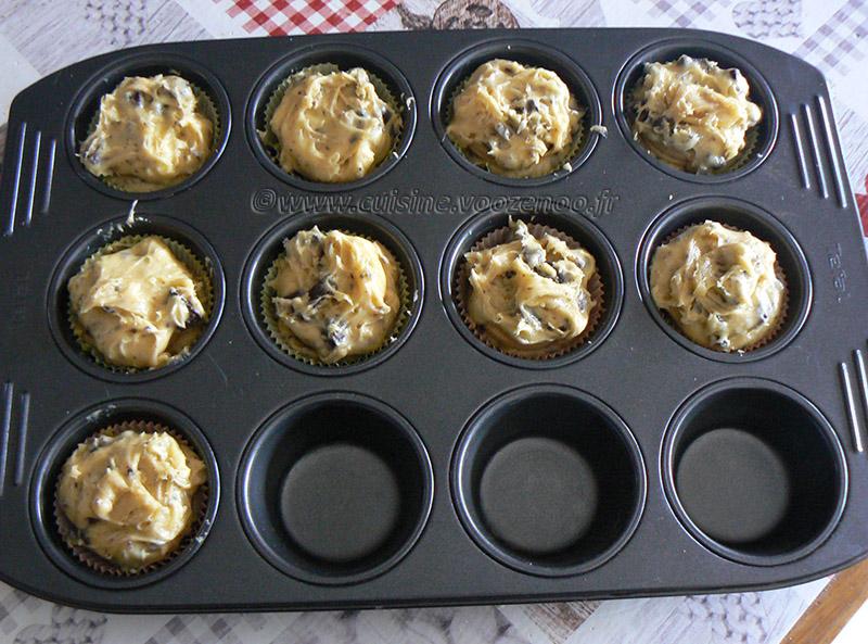 Cookie Muffin aux Oréos etape4