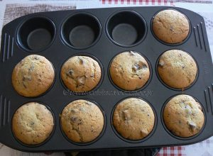 Cookie Muffin aux Oréos fin