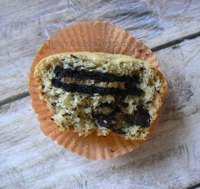 Cookie Muffin aux Oréos fin2